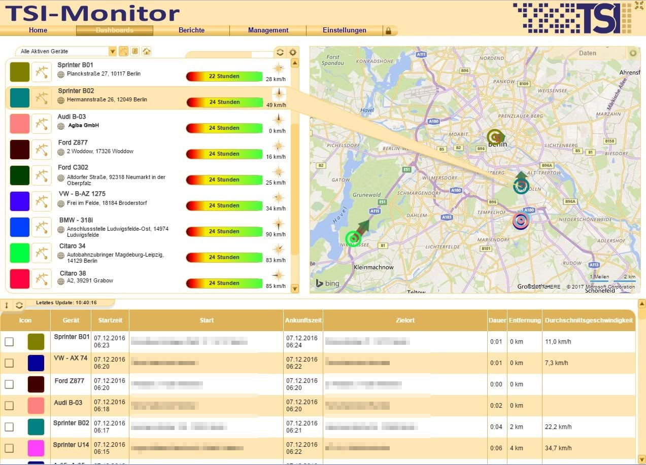 Live disposition with automatically updating dashboard